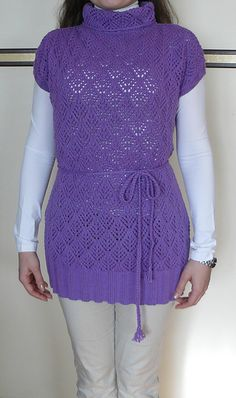 Ravelry: Lacy Tunic pattern by TheKnitterInMimi