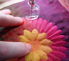 how to use silk flowers - great idea!