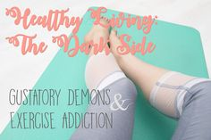 The dark side of healthy living - eating disorders & exercise addiction. My confession, and my struggle. My Confession, Health And Fitness Tips, Fantasy Books, Dark Side, Confessions, Disorders, The Darkest, Healthy Living, Addiction
