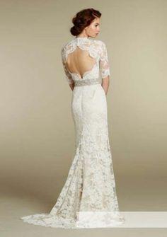 Elegant und schön weiß / Elfenbein Spitze Hochzeitskleid Neckholder Abendkleid | eBay