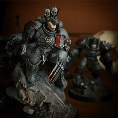The Wolf King returns! Warhammer 40k Space Wolves, Warhammer 40k Figures, Warhammer Art, Warhammer Models, Warhammer 40k Miniatures, Warhammer 40000, Minis, Tabletop, Beyond The Lights