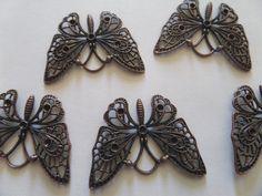 Charm ciondolo farfalla, by Laboratorio Elisa Villalba, 1,00 € su misshobby.com