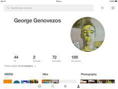 My pinterest page