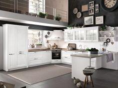 Wooden kitchen BEVERLY - Stosa Cucine