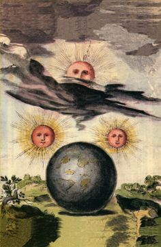 Illustration from Manly P. Hall's lectures in Astrotheology