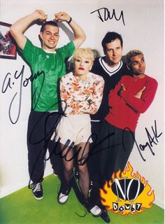 No Doubt - Autographed Photo