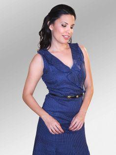 Vestido Dottie #moda #lino #SS2014 www.abito.com.mx
