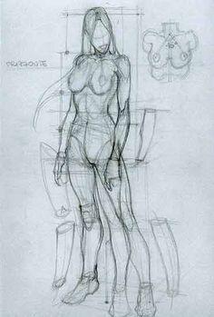 Anatomical Drawings Sketchbook ,Artist  Study Resources for Art Students with thanks to Artist Simone Bianchi, CAPI ::: Create Art Portfolio Ideas at milliande.com, Art School Portfolio Work  --