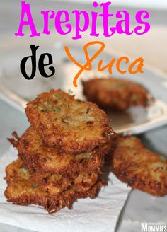 arepitas de yuca- Easy Dominican appetizer done in minutes! This super delicious arepitas de yuca, which are cassava fritters is the perfect appetizer or side dish to make and takes less than 15-minutes! Get the recipe today!