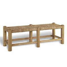 Driftwood Rush Bench - Chaises / Settees - Furniture - Products - Ralph Lauren Home - RalphLaurenHome.com