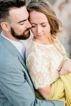 Elegant Boho Bride and Groom | Callie Hobbs Photography | Bohemian Desert Wedding Shoot in Colorado