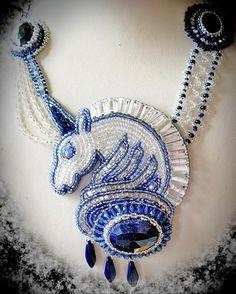 Beautiful jewelry by Natalia Bessonova (1 part) | Beads Magic
