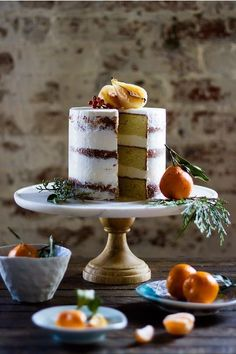 Evan Kalman shares his Cardamom Cake with Honey Buttercream recipe with EyeSwoon just in time for the holidays! Baking Recipes, Cake Recipes, Dessert Recipes, Cardamom Cake, Buttercream Recipe, Fancy Cakes, C'est Bon, Let Them Eat Cake, Gastronomia