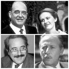 Generale Dalla Chiesa & wife Setti Carraro & Judge G. Falcone and P…