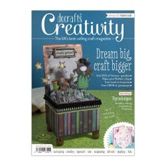 Creativity Magazine by Docrafts Issue 44 March 2014 Free cover gifts!