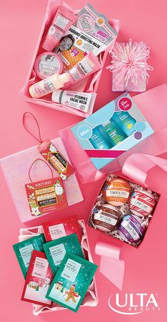 To: Everyone, From: You (aka best gift-giver ever). Bath & body kits are a foolproof festive way to send cheer. Try our fave brands like Soap & Glory, Bliss, Burt's Bees, Tony Moly and Ulta Beauty Collection!
