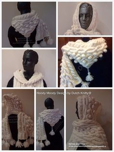 © Hoody Moody Till March 2015 ( Not free but...), i donate 1 euro from every purchased pattern to Giro 555, a Dutch fund to help the EBOLA epidemic in West-Africa. My blog (also in English ) dutchknittylolmet.... ravelry project page : www.ravelry.com/...