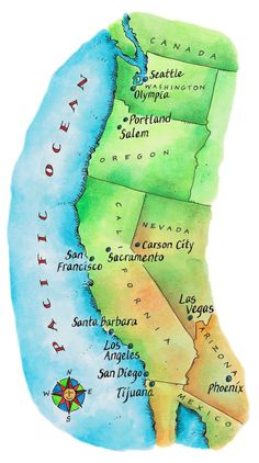 World map with Hawaiian islands in the middle | Hawaii | Pinterest ...