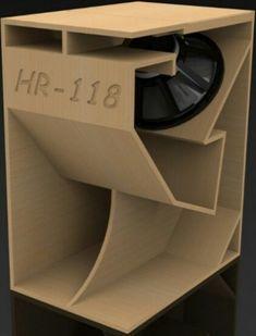 """Képtalálat a következőre: """"folded horn"""" Audio Box, Pro Audio Speakers, Horn Speakers, Diy Speakers, Audio Amplifier, Sound Speaker, Hifi Audio, Audiophile, Diy Subwoofer"""