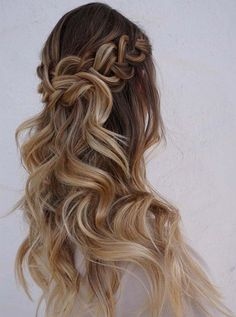 Long Curly Hairstyles 2017 for Prom