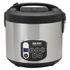Aroma Digital Rice Cooker - Stainless Steel (20 ... : Target Mobile