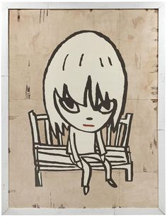 Yoshitomo Nara - Girl on Bench