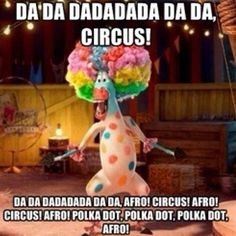 Madagascar 3 fun for all ages.Afro Circus-Polka dot circus song stuck in my head Jordan 3, Madagascar 3, S4 Wallpaper, Cartoon Wallpaper, Afro, Funny Cute, Hilarious, Super Funny, Plus Tv