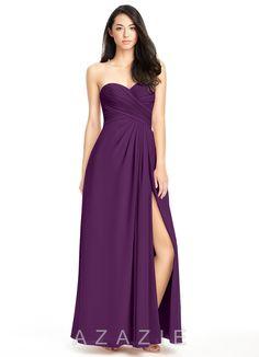 feaa2138e 30 Best Grape Bridesmaid Dresses images | Bridal, Bridal gowns ...