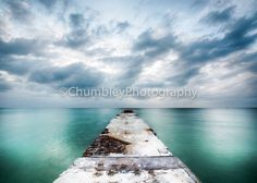 Infinity Seascape Photography by EmbellishMyWorld on Etsy