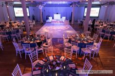 Metropolitan Pavilion set up for a Bar Mitzvah       Metropolitan Events