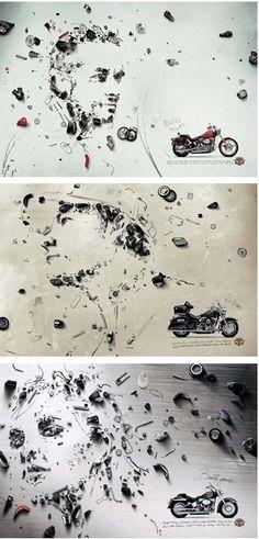 Cudos to Harley-Davidson motorcycle advertising
