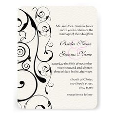 Discount DealsBlack Swirls Wedding InvitationsWe have the best promotion for you and if you are interested in the related item or need more information reviews from the x customer who are own of them before please follow the link to see fully reviews
