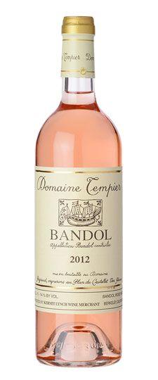 2012 Domaine Tempier Bandol Rosé #romanticdinner #seafood #salad