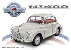 Morris Minor saloon - classic 60s icon
