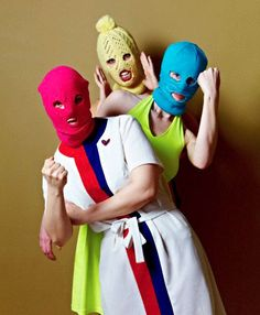 Pussy Riot and Overt Resistance: Pussy Riot is a Russian feminist punk subculture that was created to deliberately challenge dominant hegemonic social ideas and political inequalities in mainstream Russian society. Pussy Riot chose to do this through overt acts of resistance in which they would perform politically inspired punk songs in public places wearing coloured balaclavas and film themselves doing so.