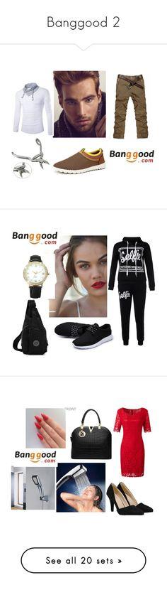 """Banggood 2"" by sanela-avdic-mutapcic ❤ liked on Polyvore featuring Sebastian Professional, men's fashion, menswear, OXO, ChArmkpR, Yves Saint Laurent, REGALROSE, Neutrogena, Retrò and Curren"