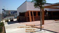 Montaje pérgolas y porches carpintería para restaurantes PARTE [ 16 ] MO...