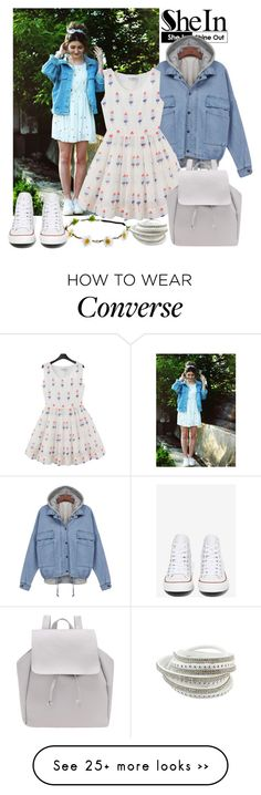 """Nice day"" by linanna on Polyvore featuring Converse"