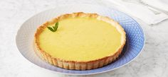 This tangy and sweet dessert brightens up any dining table. A thick lemon curd fills a golden shortbread crust for a simple, zesty tart.