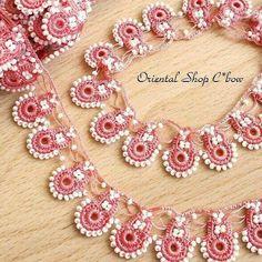 Diy Necklace, Crochet Necklace, Elsa, Bows, Bracelets, Jewelry, Model, Arches, Jewlery