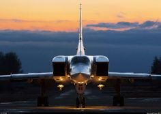 Tu-22M3 (supersonic, variable-sweep wing, strategic and maritime strike bomber)