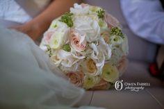 Vintage romantic wedding bouquet in blush pinks and creams - www.weddingvenuesinspain.com