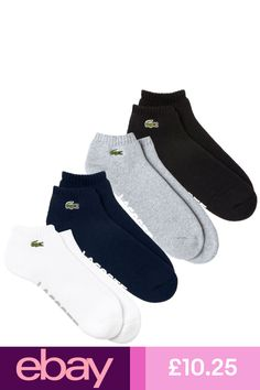 best sneakers 373dd 83ef9 Lacoste Athletic Socks Clothes, Shoes   Accessories