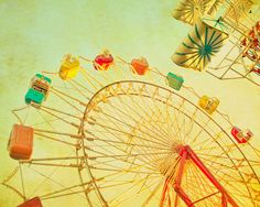 Ferris wheel art