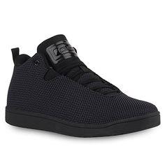 HERREN SCHUHE 117689 SPORTSCHUHE SCHWARZ 45 - http://on-line-kaufen.de/stiefelparadies/45-damen-herren-cultz-basketballschuhe-sneakers-2