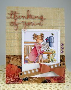 thinking of you card by Tracy MacDonald