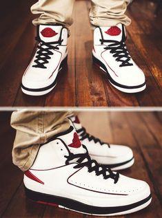 huge selection of bede0 81240 My favorite colorway for the retro Air Jordan 2, the Chicagos. Jordans  Sneakers,