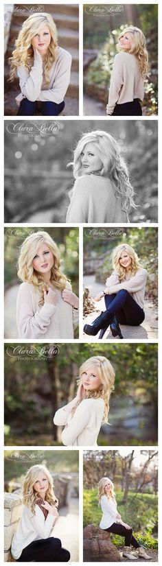 Clara Bella Photography | Dallas Senior Photographer | High School Senior Photographer | Senior Pictures | Senior Portraits (Fall Top Fun)