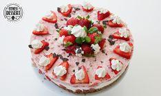 Erdbeeren Low Carb Torte   FITNESS-DESSERT.DE