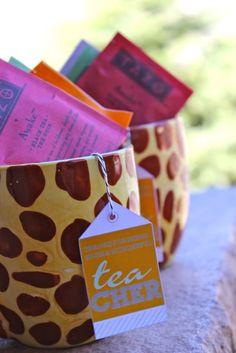 "{FREE PRINTABLE} teacher appreciation...""thanks for being a wonderful TEAcher"" tag inside a mug with tea bags"